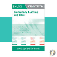 Kewtech EMLOG (EM1LOG) Emergency Lighting Log Book / Inspection Register
