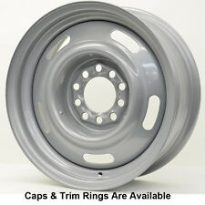 VISION 55 Steel Rally 15X7 5X4.5 / 5x4.75 6 Silver (Qty of 1)