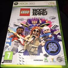 LEGO ROCKBAND ROCK BAND Xbox 360 Game complete
