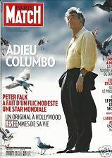 Couverture magazine,Coverage Paris Match 30/06/11 Peter Falk