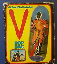 V inflatable bop bag Arco 1984 MIB alien visitors