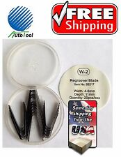 """Tire ReGroover Grooving Blades #2 (5.5mm)(1/4"""") 20 pc Square #2 FREE SHIPPING"""