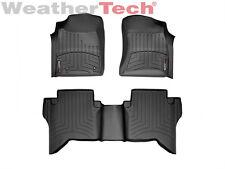 WeatherTech® Floor Mats FloorLiner - Toyota Hilux - 2006-2011 - Black