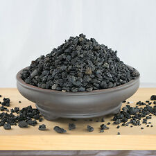 "5 Qts. 1/16"" - 1/2"" Horticultural Black Lava for Cactus, Bonsai Tree Soil Mix"