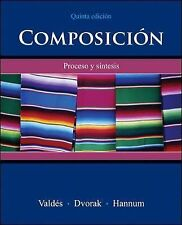Composicion: Proceso Y Sintesis by Thomasina Hannum, Trisha Dvorak and...