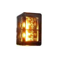 Zwei Motorrad Micro LED Einbau Blinker Cube V mit E Prüfzeichen für Custombikes