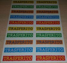 AGGIORNAMENTO FIGURINE CALCIATORI PANINI 2001/02 TRASFERITO ALBUM
