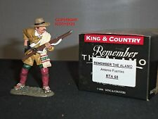 KING AND COUNTRY RTA68 ALAMO ANTONIO FUENTES METAL TOY SOLDIER FIGURE