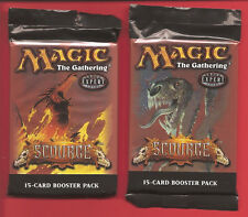 "MTG ""Scourge"" 15-Card Booster Packs--Factory Sealed Lot of 2"