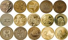 2 zlote 2001-2005 SET - 15 coins Nordic Gold GN CuAl5Zn5Sn1 Poland Polen zl