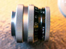 switar 25mm f1.4 c-mount lens H16 RX