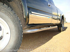 FORD SUPERDUTY CHROME ROCKER PANELS FITS 2008-2010 EXT CAB LONG BED