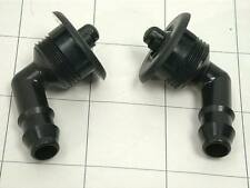 Porsche (85-94) Headlight Washer Nozzle (x2) head lamp squirter jet 930 951 964