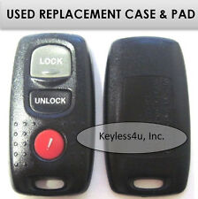 KPU41704 keyless entry remote transmitter clicker keyfob replacement case & pad