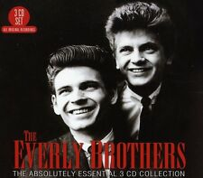 Absolutely Essential Recording - Everly Brothers (2012, CD NIEUW)3 DISC SET