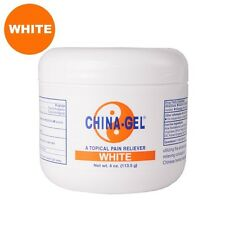CHINA GEL WHITE 4 oz Jar Topical Pain Reliever for Aches Pains & Arthritis!
