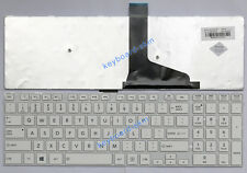 New for Toshiba Satellite C75 C75D C75D-A C75-A series laptop Keyboard white