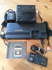 Component Modded Turbografx 16 Console Complete With CD ROM & Base