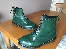 Vintage Dr Martens 1460 Racing Green boots UK 7 EU 41 skin punk England kawaii