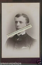 Cabinet Photo-Syracuse New York Close Up Man (1886)- VAN HOESEN Family