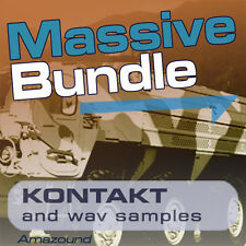 20GB KONTAKT SAMPLE BUNDLE ROLAND KORG YAMAHA 2300 nki PATCHES & 26000 WAV FILES