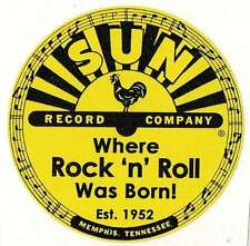 Sticker SUN RECORDS 75mm