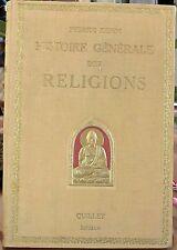 Histoire générale des religions, Pierre Rehm, Quillet 1924, World FREE Shipping*