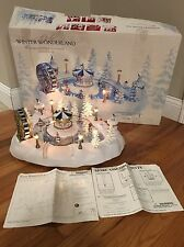 Trendmasters Christmas Magic Winter Wonderland Animated Pond Carnival