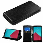2015 New Luxury Flip Magnetic Leather Magnet Wallet Phone Cover Case for LG G4