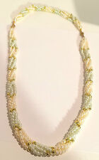 Vintage Multi-Color Faux Pearls, can be worn at 2 different lengths!