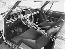 1971 BMW 3.0 CSL INNENAUSTATTUNG PRESSEBILD PRESS FACTORY PICTURE ORIGINAL