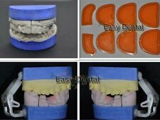 8pcs Dental Silicone Plaster Model Former Tray Base Molds Mould NEW