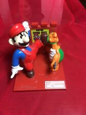 "SUPER MARIO BROS With Turtle Vintage Nintendo 4"" Trophy Figure 1988"