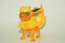 RARE TOY MEXICAN FIGURE BOOTLEG POKEMON EEVEE Flareon FIGURE WITH LIGHT 4.5IN