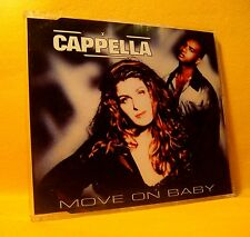 MAXI Single CD CAPPELLA Move On Baby 12TR 1994 house eurodance
