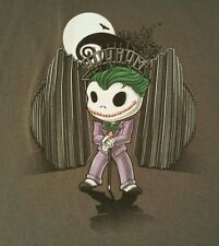 NIGHTMARE BEFORE CHRISTMAS BATMAN JACK SKELLINGTON THE JOKER MASHUP T-SHIRT 2XL