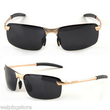 Mens Polarized Sunglasses Aviator Goggles Driving Outdoor Eyewear Sun Glasses