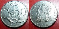 50 Cents 1990 Afrique du Sud South Africa Suid Afrika