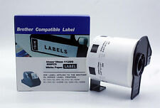 Brother Compatible DK 1209 DK-11209 Printer Label Continues Roll White 62mmx29mm