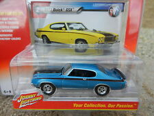 2016 Johnny Lightning *MUSCLE CARS USA R1B* Blue 1971 Buick GSX *NIP!*
