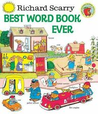 Giant Little Golden Book: Best Word Book Ever by Richard Scarry (1999,...