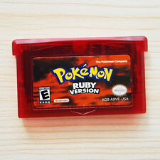 Pokemon RUBY Game Card Gift Advance for Nintendo NDS/NDSL/GBC/GBM/GBA/SP