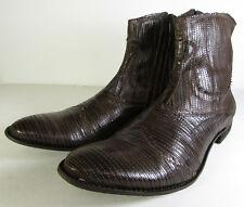 True Religion Mens Guido Ankle Boot Shoe Dark Brown, US 10