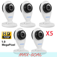 5 Set OEM Sricam 720P Wireless IP Camera WiFi Security Night Vision Cam White MG