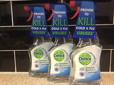 Dettol Anti-Bacterial Surface Cleanser 500 ml  Original Pack of 3 NEW