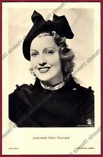 JEANETTE MACDONALD 16 ATTRICE ACTRESS CINEMA MOVIE - CAPPELLO HAT Cartolina FOT.