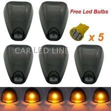 Fits 1999-2012 Ford F250 F350 Pickup Truck Smoked Cab Light Lens + Free led lamp