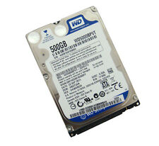 "WD Blue Mobile  500GB  SATA 2.5"" Laptop Hard drive HDD 5400 RPM WD5000BPVT"