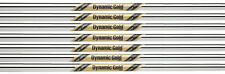 True Temper Dynamic Gold Tour Issue Iron Shafts 4-PW Set - X100 Flex - .355""