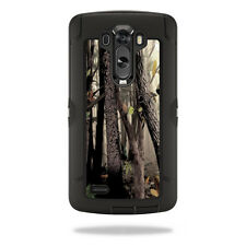 Skin Decal Wrap for OtterBox Defender LG G3 Case cover Tree Camo